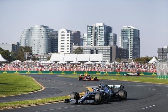 Lewis Hamilton Mercedes Australian GP 2019