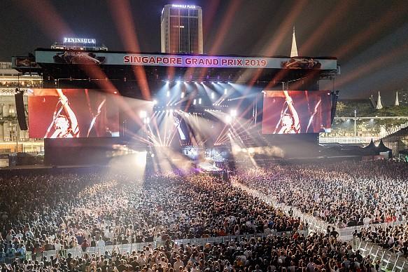 Singapore Grand Prix 2019 entertainment