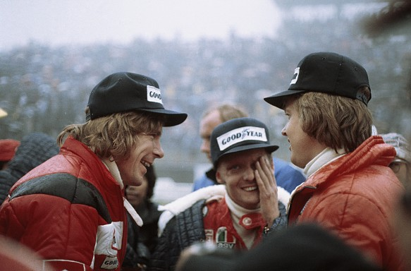 James Hunt Niki Lauda