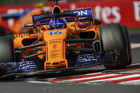 Alonso McLaren Hungary 2018