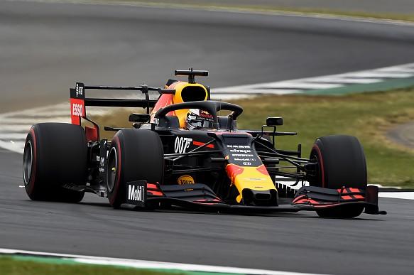 Max Verstappen Silverstone 2019
