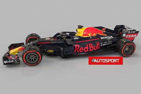 Red Bull Honda Autosport artist\'s impression F1 2019