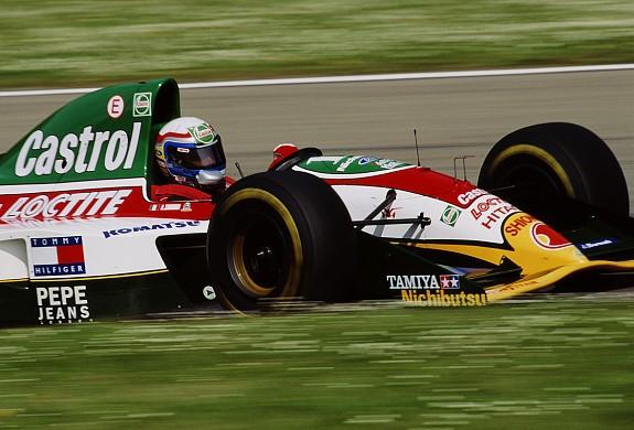 Alex Zanardi Lotus F1