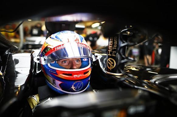 Grosjean Haas Abu Dhabi GP F1 2019