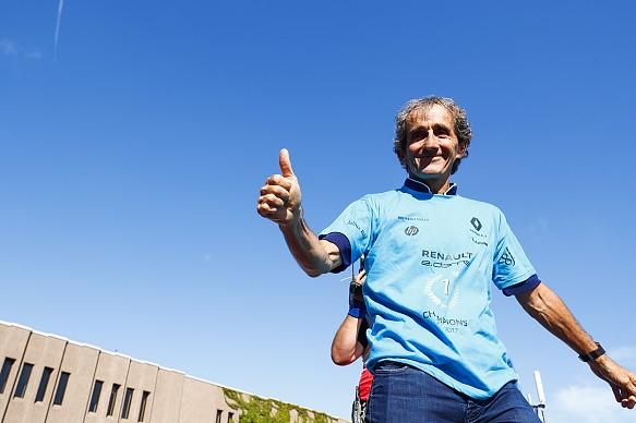 Alain Prost Renault e.dams