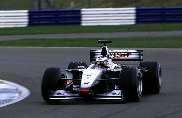 Olivier Panis McLaren 2000 Silverstone