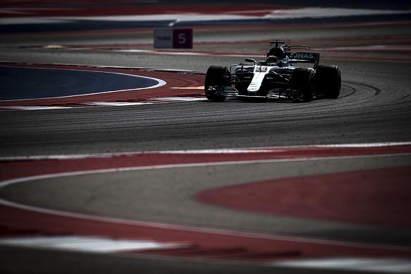 Lewis Hamilton Mercedes US Grand Prix 2017