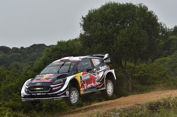 Sebastien Ogier M-Sport Ford WRC 2018