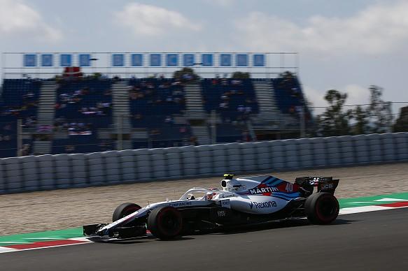 Robert Kubica Williams Spanish GP practice 2018