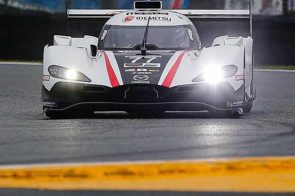 Oliver Jarvis Mazda Daytona 24 Hours qualifying 2020