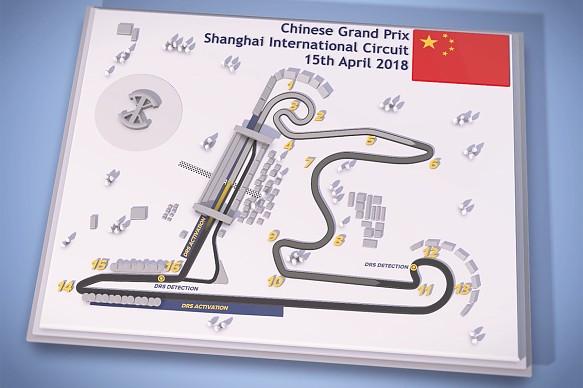 Chinese Grand Prix track map