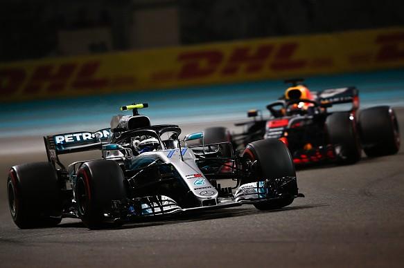 Valtteri Bottas Mercedes Abu Dhabi Grand Prix 2018