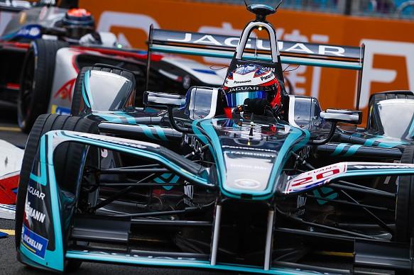 Mitch Evans Jaguar Formula E Hong Kong 2017