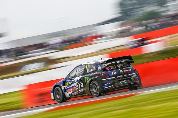 Petter Solberg PSRX VW Silverstone World RX 2018