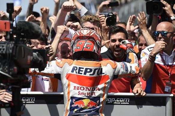 Marc Marquez wins Le Mans MotoGP 2018