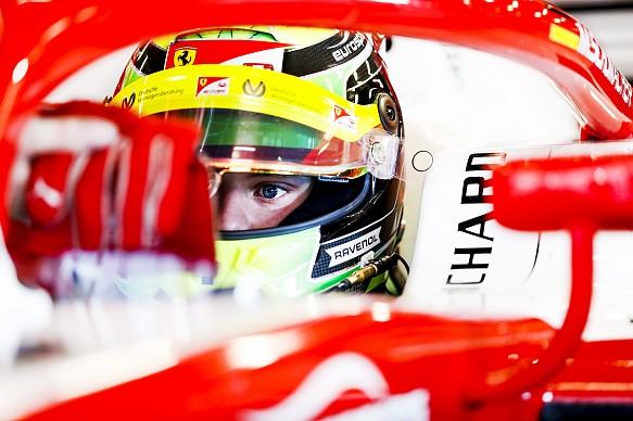 Mick Schumacher F2 testing 2019
