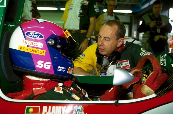 Peter Collins, Pedro Lamy, Team Lotus 1993