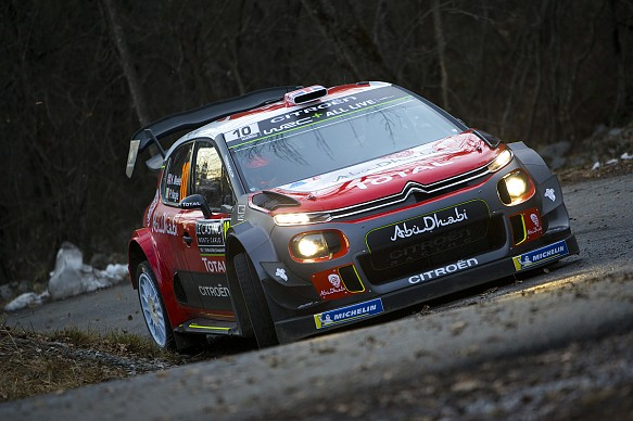 Kris Meeke Rally Monte Carlo