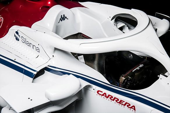 Halo Sauber F1 2018