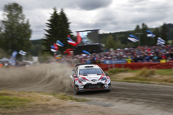 Ott Tanak Toyota Rally Finland WRC 2019