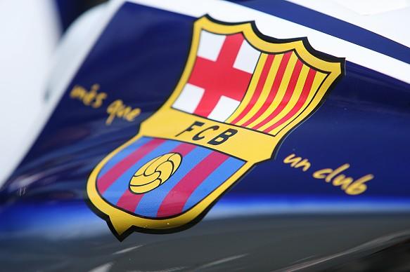 Barcelona FC football logo