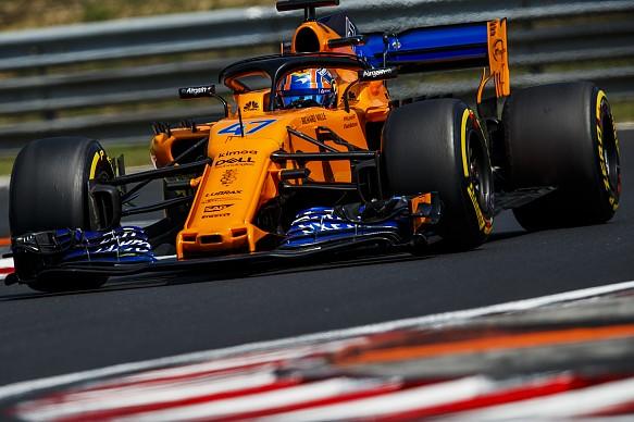 Lando Norris McLaren 2018