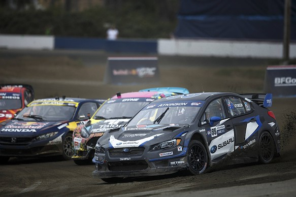 Chris Atkinson Subaru Global Rallycross 2017