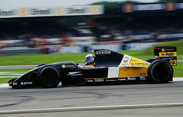 Alex Zanardi Minardi F1