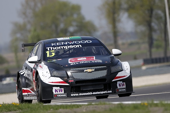James Thompson, Munnich Chevrolet, Slovakia WTCC 2016