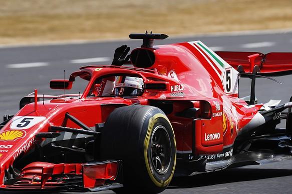 Sebastian Vettel Ferrari F1 2018