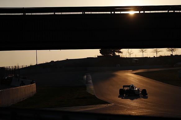 F1 testing 2019