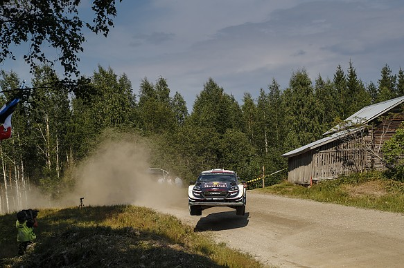 Sebastien Ogier Ford WRC Finland