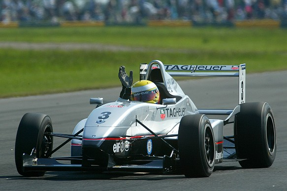 Lewis Hamilton 2003 Formula Renault UK
