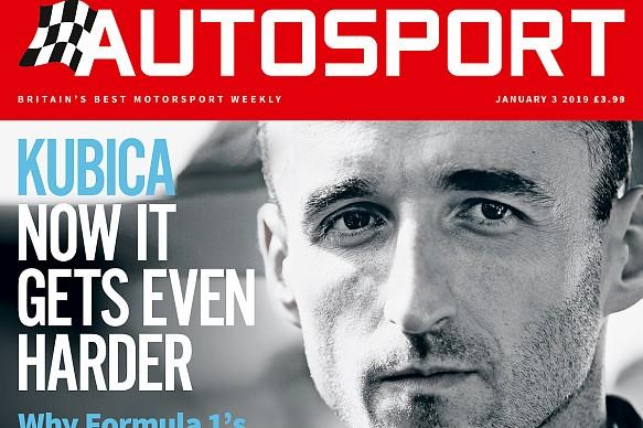 January 3 Autosport magazine cover