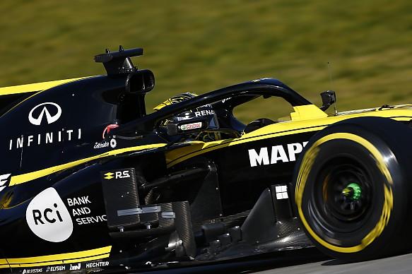 Nico Hulkenberg Renault Barcelona F1 testing 2019