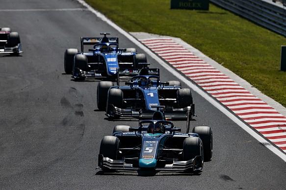 Alexander Albon Formula 2 2018