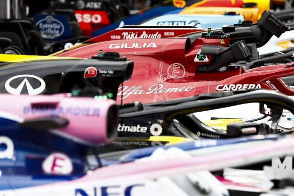 Monaco Grand Prix 2019 parc ferme