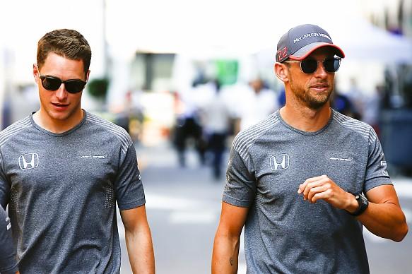 Button Vandoorne McLaren F1