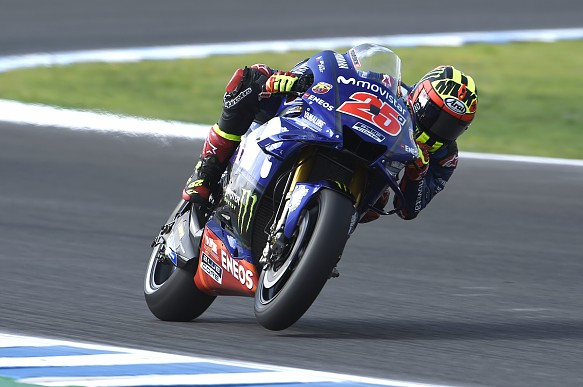 Maverick Vinales Yamaha Jerez MotoGP2018