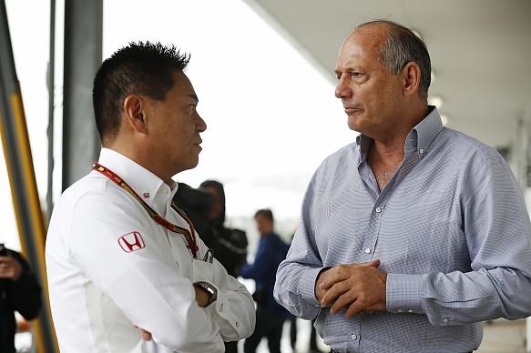 Ron Dennis McLaren Suzuka 2014
