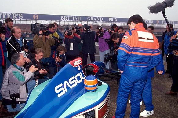Martin Donnelly Jordan test