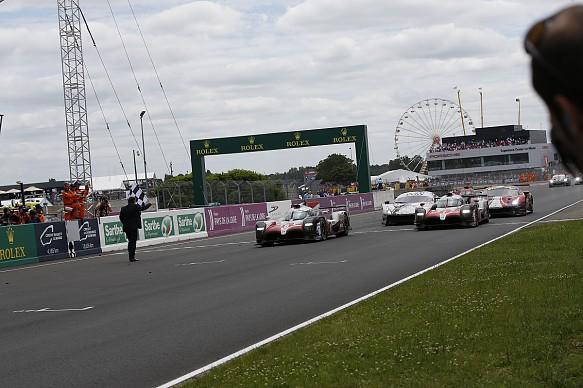 Toyota Le Mans finish 2018