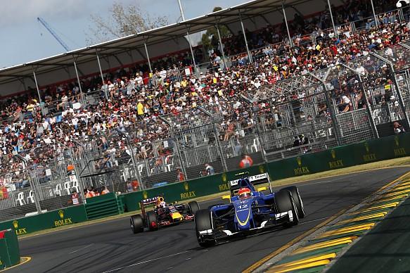 Felipe Nasr 2015 Australian Grand Prix