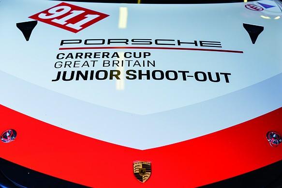 Dan Harper Porsche Carrera Cup GB junior