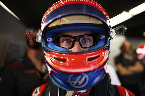 Romain Grosjean Canada 2018 glasses camera