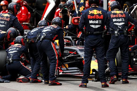 Red Bull mechanics 2019