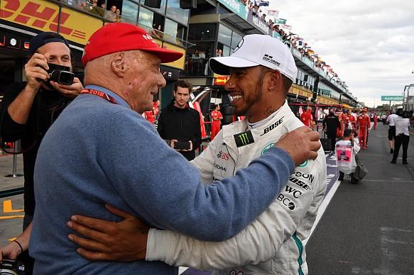 Lauda Hamilton Australian Grand Prix 2018