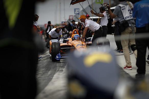 Fernando Alonso McLaren Indy 500 2019