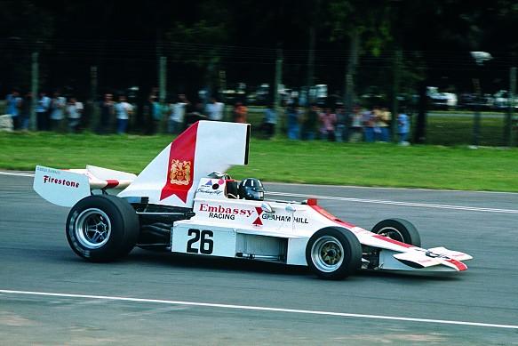 Graham Hill Lola T370