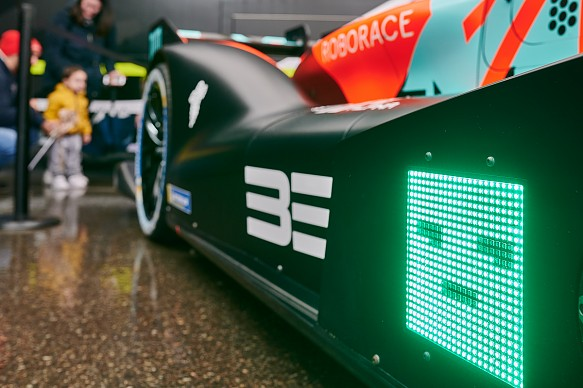 Roborace season alpha LED DevBot 2.0